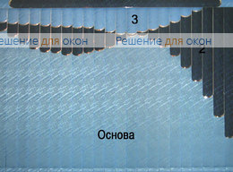 Жалюзи мультифактурные, Жалюзи мультифактурные Модель №10 от производителя жалюзи и рулонных штор РДО