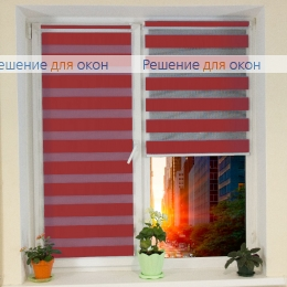 Компакт Зебра на створку окна, Компакт Зебра  SIMPLE 12 от производителя жалюзи и рулонных штор РДО