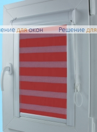 Уни Зебра на створку окна, Уни Зебра  SIMPLE 12 от производителя жалюзи и рулонных штор РДО
