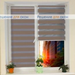 Компакт Зебра на створку окна, Компакт Зебра  SIMPLE 3 от производителя жалюзи и рулонных штор РДО