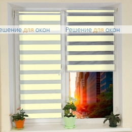 Компакт Зебра на створку окна, Компакт Зебра  SIMPLE 4 от производителя жалюзи и рулонных штор РДО