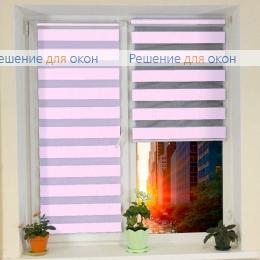 Компакт Зебра на створку окна, Компакт Зебра  SIMPLE 6 от производителя жалюзи и рулонных штор РДО