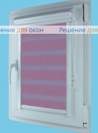 Витео плюс Зебра на створку окна, Витео плюс Зебра  SIMPLE 8 от производителя жалюзи и рулонных штор РДО