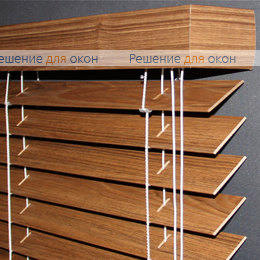 50мм, Жалюзи горизонтальные 50 мм, арт. Teak ламинация от производителя жалюзи и рулонных штор РДО