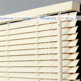 Жалюзи горизонтальные деревянные, Жалюзи горизонтальные 25 мм, арт. White от производителя жалюзи и рулонных штор РДО