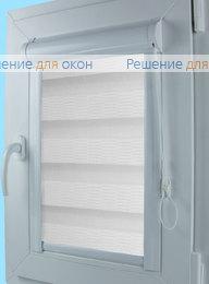 Уни Зебра на створку окна, Уни Зебра КАСКАД 1, белый от производителя жалюзи и рулонных штор РДО