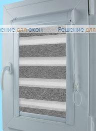 Уни Зебра на створку окна, Уни Зебра ВЕГА 11, серый от производителя жалюзи и рулонных штор РДО
