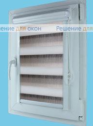 Витео плюс Зебра на створку окна, Витео плюс Зебра ОМБРЕ 9, серый от производителя жалюзи и рулонных штор РДО