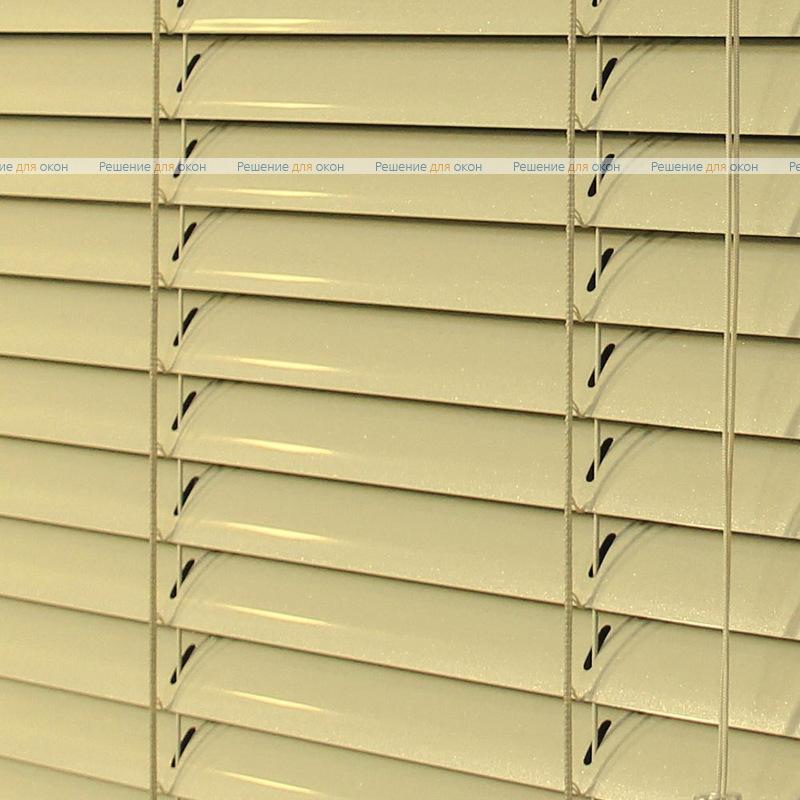 Жалюзи горизонтальные 25 мм, арт. 2303 Бежевый перламутр от производителя жалюзи и рулонных штор РДО