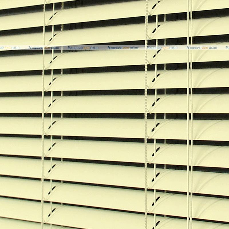 Жалюзи горизонтальные межрамные 25 мм, арт. 23 Св. бежевый глянец от производителя жалюзи и рулонных штор РДО