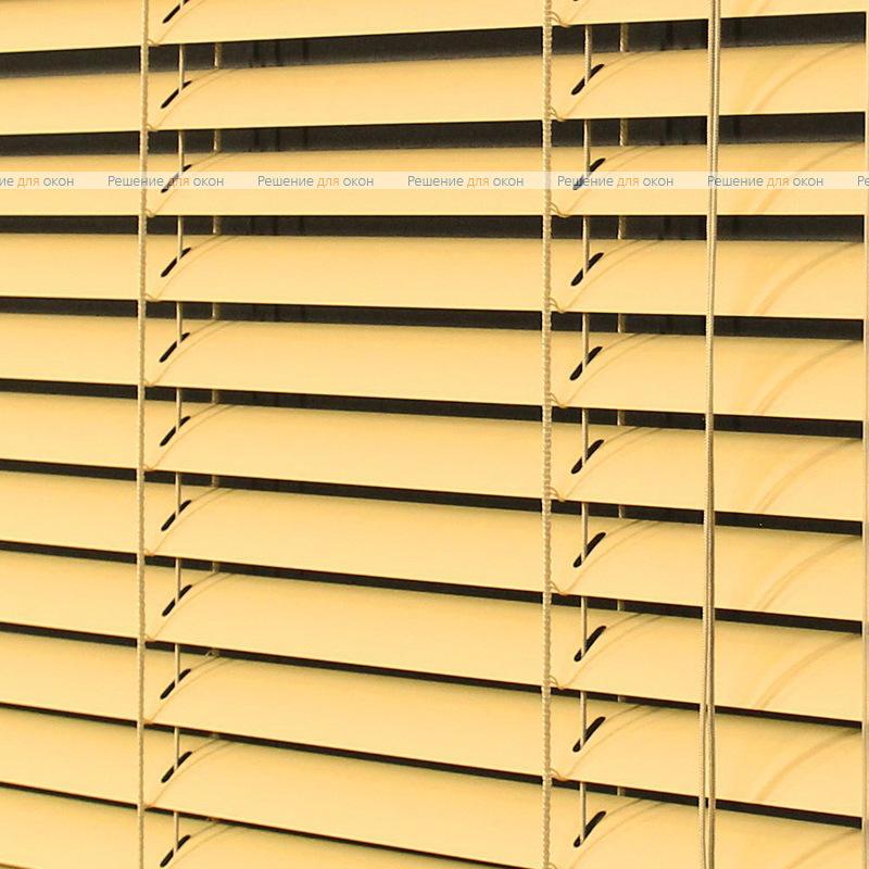 Жалюзи горизонтальные 25 мм, арт. 3458 Желтый матовый от производителя жалюзи и рулонных штор РДО