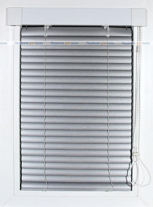 ИзотраХит 25 мм цвет 7505 Штрих серебро от производителя жалюзи и рулонных штор РДО