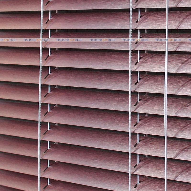 Жалюзи горизонтальные 25 мм, арт. 7536 Штрих розовый от производителя жалюзи и рулонных штор РДО