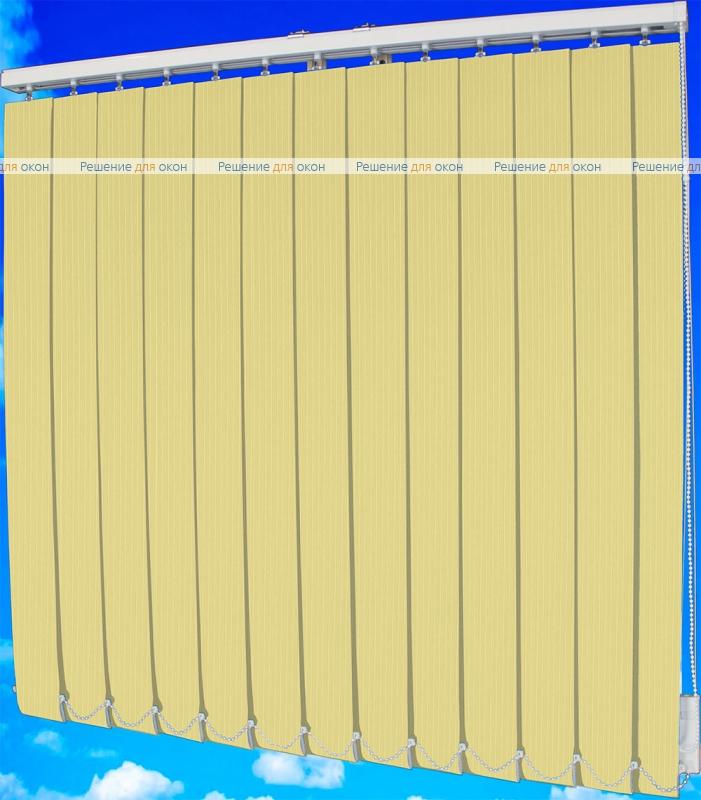Жалюзи вертикальные ЛАЙН  021 светло-бежевый от производителя жалюзи и рулонных штор РДО